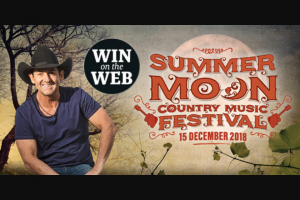 7ad TAS – on The Web Is a Double Pass to The Summer Moon Festival
