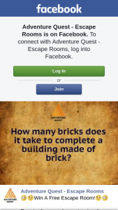 Adventure Quest Escape Rooms – Win a Free Escape Room