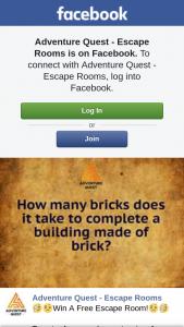 Adventure Quest Escape Rooms – Win a Free Escape Room