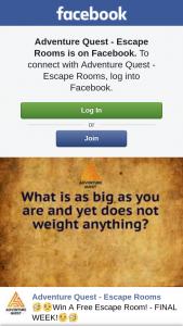 Adventure Quest – Win a Free Escape Room