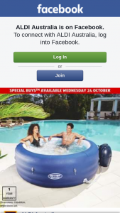 Aldi Australia – Win an Inflatable Spa (prize valued at $499)