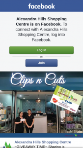 Alexandra Hills Shopping Centre – Win a Hair Cut and Treatment From Clips & Cuts Alexandra Hills Valued at $50 (prize valued at $50)
