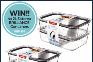 All Mum Said – Win 4 Sistema Brilliance Containers (prize valued at $56)