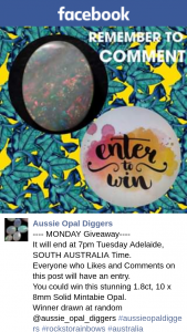 Aussie Opal Diggers – Win this Stunning 1.8ct
