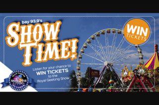 Bay939 Geelong – Win Tickets to The Royal Geelong Show 18/21 October