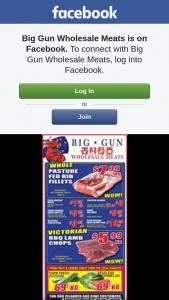 Big Gun Wholesale Meats Underwood – Win One of 2 $100 Vouchers.specials Valid 24.10.2018