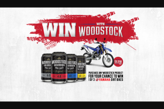 BWS Woodstock – May Be Validated By The Promoter Prior to a Prize Being Awarded) (prize valued at $8,598)