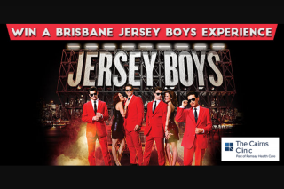 4ca Cairns – Win a Trip for 2 to Brisbane to Experience Jersey Boys With VIP Meet The Cast Experience and Accommodation at The 5 Star Stamford Plaza Brisbane