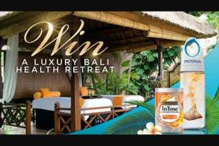 Channel Ten-Twinings Infuse – Win a Luxurious and Relaxing Getaway for Two (prize valued at $17,400)