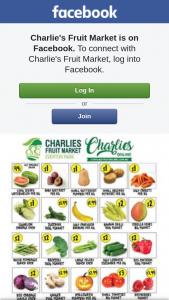 Charlie's Fruit Market – Win $100 Voucher (prize valued at $100)