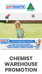 Chemist Warehouse – Win 1 of 50 $200 Cash Gift Cards (prize valued at $10,000)
