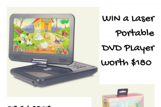 Child Blogger – Win a Laser Portable DVD Player Or a Laser Bluetooth Kid's HeaDouble Passhones