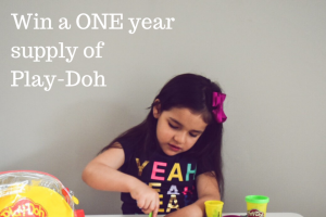 Child Blogger – Win a 1 Year Supply of Play-Doh Activities