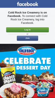 Cold Rock Ice Creamery – Win $200 In Cold Rock Gift Cards this Friday 19th October