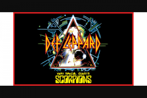 Community News – Win One of 12 Double Passes to Def Leppard Live at Rac Arena on Friday 2 November