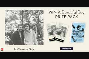 Dendy – Win a Beautiful Boy Prize Pack Including