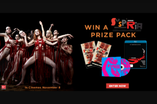 Dendy – Win a Suspiria Prize Pack Including