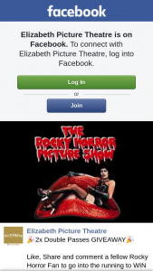 Elizabeth Picture Theatre – Win a Double Pass to Rocky Horror this Friday Or Sunday (you Choose)