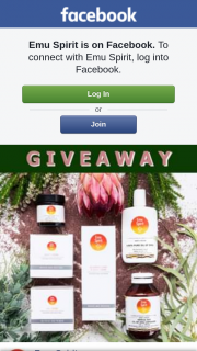 Emu Spirit – Win a Health & Beauty Kit (prize valued at $187.7)