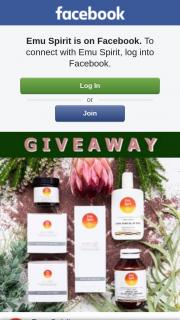 Emu Spirit – Win a Health & Beauty Kit (prize valued at $187.7)