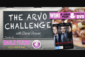 Gold Central Vic – Win a Large Pizza Thanks to Eagle Pizza and on DVD Spinning Man Thanks to Defiant Screen Entertainment