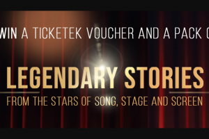 Hachette – Win a Legendary Prize of Legendary Stories With a Pack of Our Best New Release Biographies and Stories About The Stars of Song (prize valued at $351)