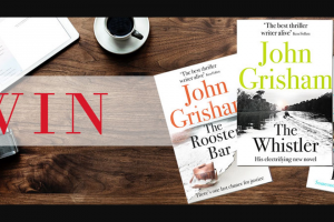 Hachette – Win Three Thrillers From Author John Grisham to Prepare Yourself for His Most Blistering Thriller Yet