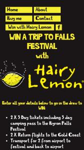 Hairy Lemon – Win a Trip to Falls Festival