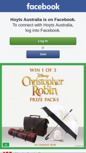 Hoyts – Win 1 of 3 Christopher Robin Prize Packs