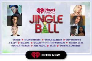 iHeart Radio – Jingle Ball – Win an epic trip for 2 to New York