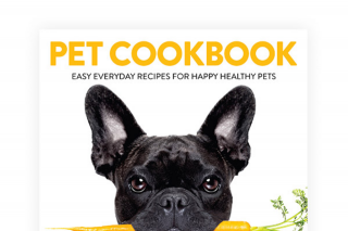 4 Ingredients – Win 1 of 4 Signed Copies of 4 Ingredients Pet Cookbook (prize valued at $100)