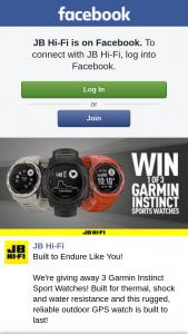 JB HiFi – 3 Garmin Instinct Sport Watches