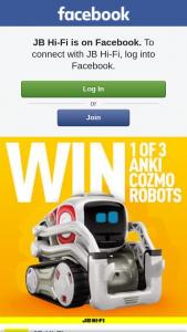 JB Hi-Fi – Win 1 of 3 Anki Cozmo Robots (prize valued at $957)