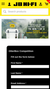 JB HiFi – Win 1 of 3 Otterbox Summer Cooler Prize Sets (prize valued at $1,935)