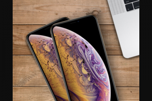 Kogan – Win an Iphone Xs for You and a Friend (prize valued at $1,629)