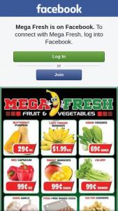 Mega Fresh Browns Plains – Win a $50 Fruit and Veg Voucher for Mega Fresh Browns Plains &#128578 (prize valued at $50)