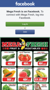 Mega Fresh – Win a $50 Fruit and Veg Voucher to Spend In Store