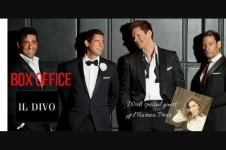 5mu SA – Win Double Pass's to See Il Divo Adelaide Ent Centre 18/10/18