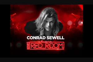 NOVA FM See Conrad Sewell Live in Nova's Red Room – Win Your Way to Nova's Red Room With Conrad Sewell Just Tell Us Below In 25 Words Or Less Why You Want to Be There (prize valued at $100)