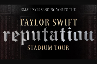 Nova FM Smallzy's sending you to see Taylor Swift Live in concert – Win One (1) Prize Each