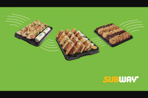 Nova 93.7 – Win Lunch Thanks to Subway (prize valued at $400)