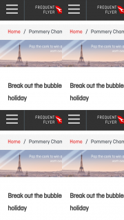 Qantas Epicure – Win a French Holiday (prize valued at $24,660)