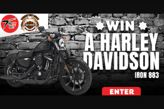 Radio 7hofm TAS – Win a Harley Davidson Sportster Iron 883 All Through The Month of October