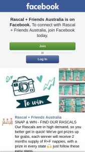 Rascal & Friends – Win a Cannon Eos M50 Camera Creative Type (prize valued at $784)