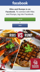 Ribs and Rumps – Win a $50 Rnr Voucher (prize valued at $50)