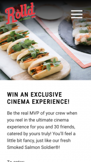 Roll'd – Win an Exclusive Cinema Experience