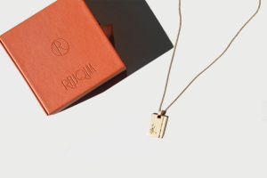 Russh magazine – Five of Their Fine Chain Scorpio Necklaces From The Zodiac Collection