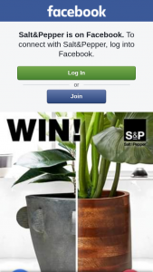 Salt&Pepper – Win One of Our Planters From Our Eden Range