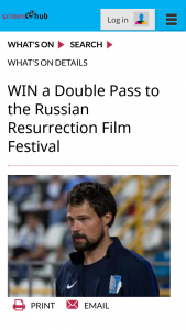 Screen Hub – Win a Double Pass to The Russian Resurrection Film Festival