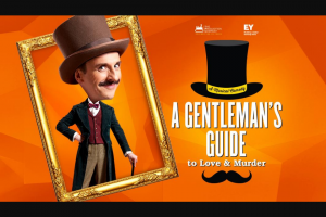 Smooth FM – Win a Double Pass to See a Gentleman's Guide to Love & Murder